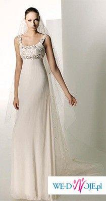 Sprzedam suknię szytą na wzór SILUETA Manuel Mota