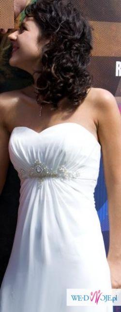 Sprzedam suknię Venus model 6640 rozm 34/36 +Dodatki