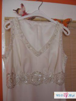 sprzedam suknie wieczorową  roz 38