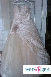 Sprzedam suknię z dodatkami :)