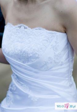 sprzedam suknię z salonu Margarett- model Saba