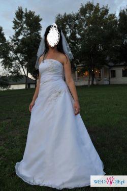 sprzedam suknnię ślubną + gratisy