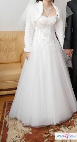 sprzedam super wygodną suknię ślubną