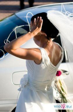 Sprzedam super wygodną suknię ślubną z muślinu!