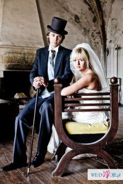 sprzedam surdut angielski ślubny