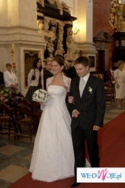 Sprzedam szykowną suknię ślubną