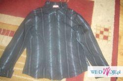 Sprzedam TANIO 2 bluzki na długi rękaw z zawijanymi mankietami o rozmiarze L