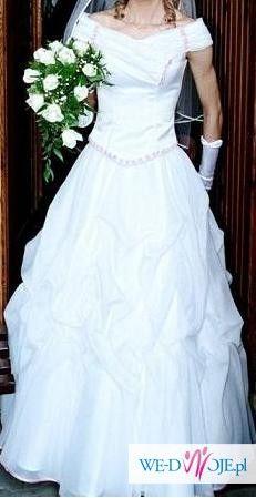 sprzedam tanio i szybko suknie ślubną