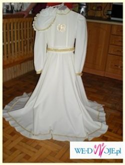505bda402f Sprzedam TANIO jedyną w swoim rodzaju sukienke komunijna z dodatkami ...