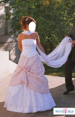 Sprzedam tanio niepowtarzalną suknię ślubną