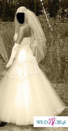 Sprzedam TANIO piękną suknię ślubną!!!