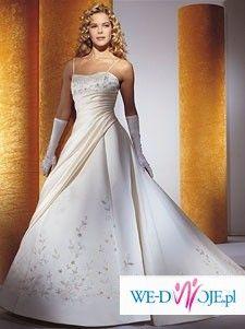 Sprzedam tanio przepiękną suknię Cosmobella 7007