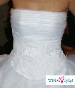 Sprzedam tanio śliczna suknię ślubną