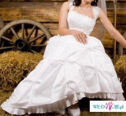 Sprzedam tanio śliczną suknię ślubną!!!