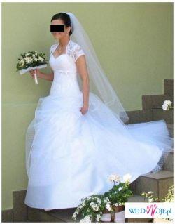 Sprzedam tanio suknie AGORA 28-14 wraz z dodatkami
