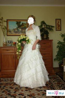 Sprzedam  tanio suknie slubną