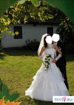 SPRZEDAM TANIO SUKNIE ŚLUBNĄ FIRMY SPOSABELLA MODEL 504
