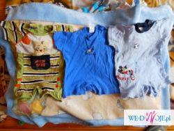 Sprzedam ubranka dla chłopca - rozmiar: 56, 62, 68