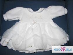 Sprzedam ubranko na chrzest dla dziewczynki