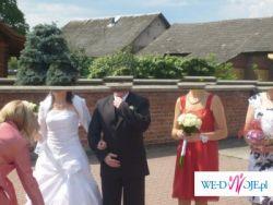 Sprzedam używaną białą suknię ślubną z salonu SPOSA