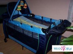 Sprzedam wielofunkcyjne łóżeczko dziecięce + materac dziecięcy GRATIS!!