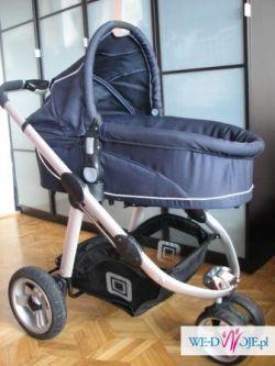 Sprzedam wielofunkcyjny wózek głęboko- spacerowy niemieckiej firmy BABY WELT kol