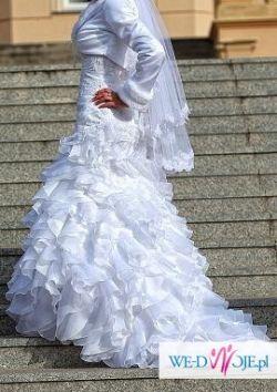 Sprzedam włoską suknię ślubną DEMETRIOS 4266