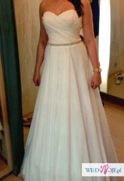 Sprzedam włoską suknię ślubną MAGGIO RAMATTI model INEZ-kolekcja 2014