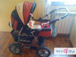 sprzedam wózek dziecięcy głęboko-spacerowy