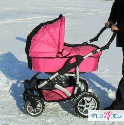sprzedam wózek dziecięcy: gondola+spacerówka
