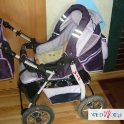 Sprzedam wózek głeboko-spacerowy uzywany