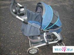 Sprzedam wózek graco quatro de luxe(z nosidłem )w bardzo dobrym stanie.