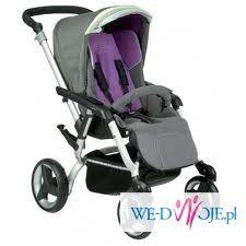 Sprzedam wózek Jane Unlimit J42Iris Gondola+Spacerówka i dodatki