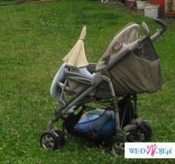 Sprzedam wózek Pliko P3 (+fotelik samochodowy 0-13kg z bazą)