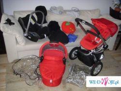 Sprzedam Wózek Quinny Buzz 2007 zestaw gondola+spacerówka+fotelik i dodatki