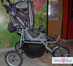 sprzedam wózek trójkołowy