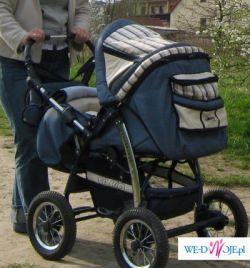 sprzedam wózek wielofujncyjny TAKO(niebieski)