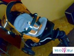 sprzedam wózek x lander kol. 2008 gondola spacerówka fotelik więcej info.na tel