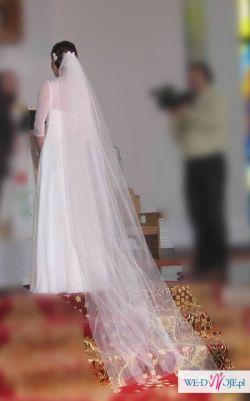 Sprzedam wyjątkową, romantyczną suknie ślubną