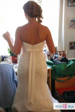 Sprzedam wyjątkową suknię Rybka ECRU 38/40 Cosmobella 7402