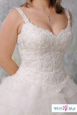 Sprzedam wyjątkową suknię ślubną Justin Alexander