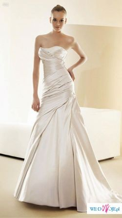 Sprzedam wyjątkową suknię White One 411 jasne ecru +etola+rękawiczki