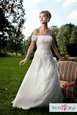 Sprzedam wyjątkową suknię z kolekcji 2010 Perfect Bridge z dodatkami