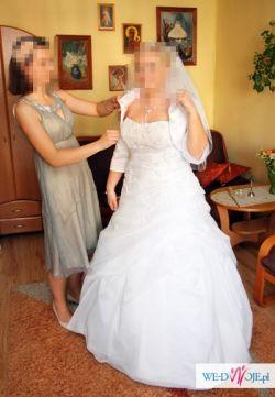 Sprzedam/wypożyczę suknię Amsterdam Blue By Enzoani rozm. 46/48 wyszczuplająca