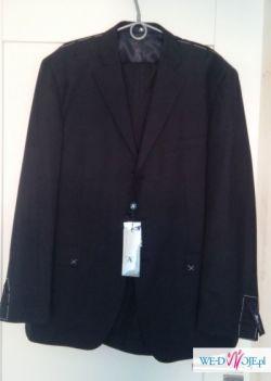 Sprzedam wysokiej klasy nowy włoski garnitur