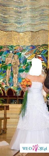 sprzedam zjawiskową suknię ślubną!!!!