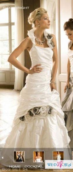 Sprzedam zjawiskową suknię ślubną Linea Raffaelli