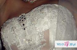 Sprzedam zjawiskowo przepiękną suknię ślubną!!