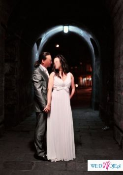 Sprzedam zwiewną i skromną suknię ślubną Maggio Ramatti Delight