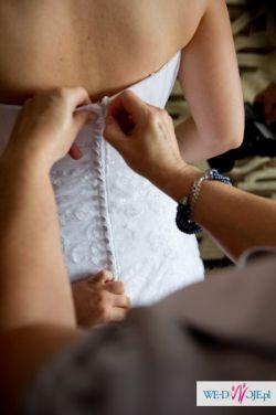 Sprzedampiękną suknie ślubną. Model Agnes 10466